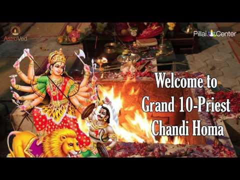 10 PRIEST GRAND CHANDI HOMA on Dec 21st - 8.00 am IST