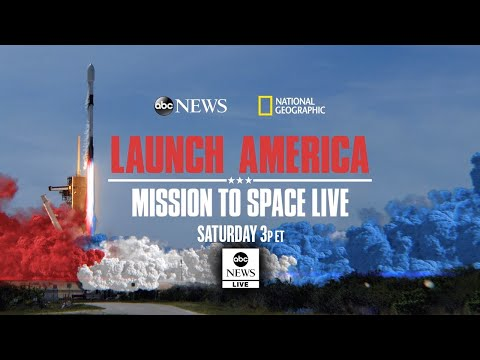 Watch SpaceX Live: Launch America - Mission To Space from the Kennedy Space Center