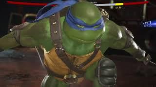 Injustice 2 Leonardo vs Hellboy