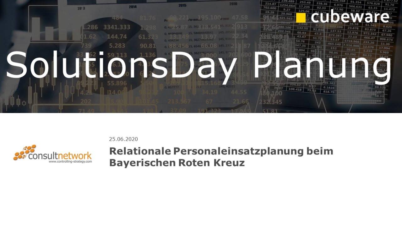Relationale Personaleinsatzplanung Bayerisches Rotes Kreuz