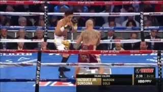Wilfredo Vazquez Jr  vs Marvin Sonsona II