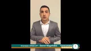 Orientador APEDE AFT - Daniel Magalhães