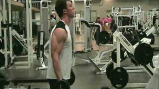 Bicep Dumbbell Curls: HOW-TO Workout VID LIVE DEMO. - Bodybuilding Fitness & Muscle Tips *HQ*