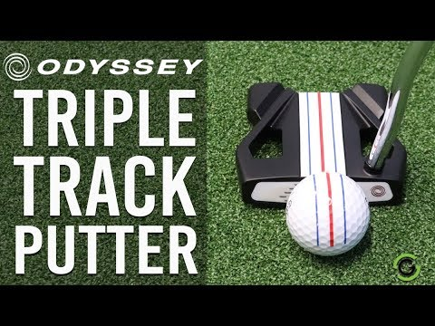 NEW TRIPLE TRACK PUTTER FROM ODYSSEY - REVIEW