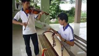 Lý Cây Bông (Hòa Tấu) - Trịnh Tiến (violon) ft Tài Linh (đàn tranh)