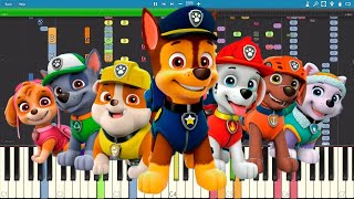 IMPOSSIBLE REMIX - Paw Patrol Theme Song - Piano Cover