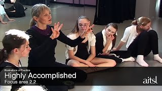 Aesthetic knowledge in Dance