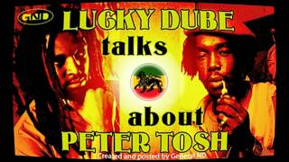 Lucky Dube talks about Peter Tosh