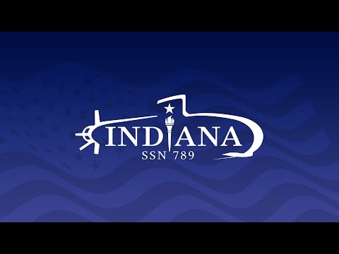Indiana (SSN 789) Christening