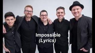 Sidewalk Prophets - Impossible (Lyrics)