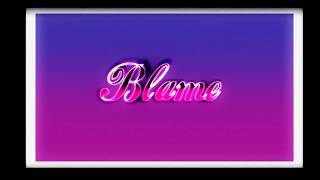 jesse rutherford- Blame (Instrumental)