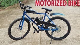 Build a Motorized Bike at home - Tutorial width=