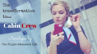 The Transformation To Cabin Crew: A Timelapse of Flight Attendant Life