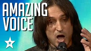 Most Amazing Voice Audition Wins Golden Buzzer & Reduces Judges To Tears | Got Talent Global