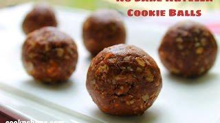 No Bake Nutella Cookie Balls - 4 Ingredients