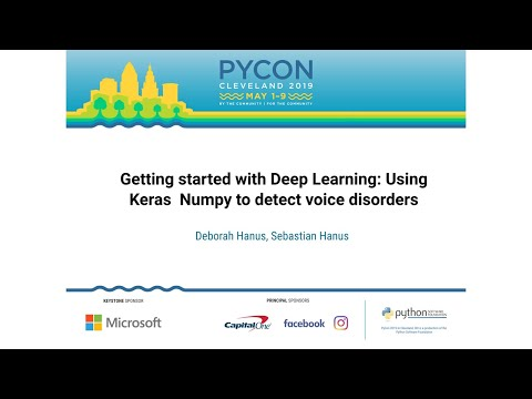 Getting started with Deep Learning: Using Keras & Numpy to detect voice disorders