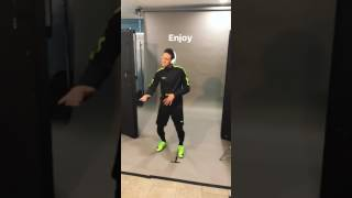 NEYMAR JR DANCE ''PARTY'' CHRIS BROWN