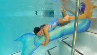 Download video Mermaid Melissa at Childrens Birthday Pool