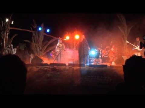 Noura Mint Seymali from Mauritania in Taragalte Festival 2012 – part 6, Mhamid Sahara Desert Morocco