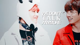 taekook ● we don't talk anymore