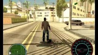 GTA San Andreas - Skateboard Mod
