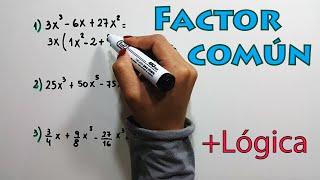 Factor común ejercicios