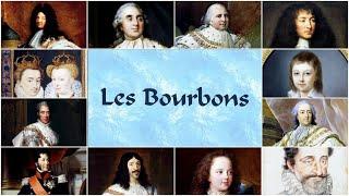 Les Bourbons, 8 rois qui ont fait la France. The Bourbons, 8 kings who Made France.