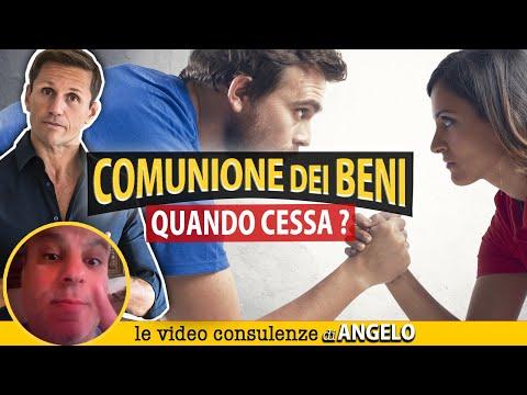 Quando cessa la COMUNIONE DEI BENI? | Avv. Angelo Greco