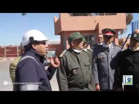 Video : Total Maroc : le gouverneur de Ouarzazate en visite au centre de Ouargaz