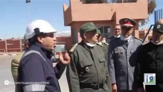 Total Maroc : le gouverneur de Ouarzazate en visite au centre de Ouargaz