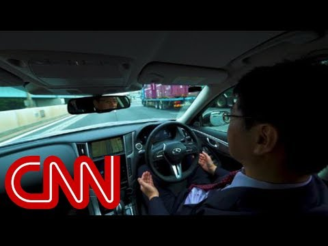 Car maker tests hands-free driving