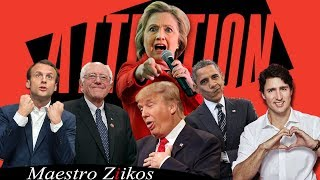 Charlie Puth - Attention ( Acapella Cover ) By Trump, Obama, Trudeau, Macron,Clinton ft. Ziikos