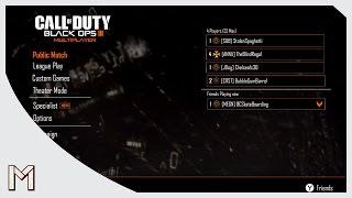 Amazing Call Of Duty Black Ops 3 Main Menu Demo