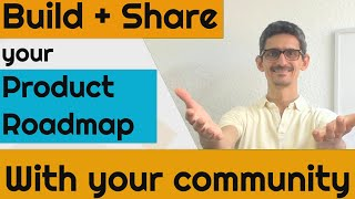 Build & share your STARTUP ROADMAP with your community