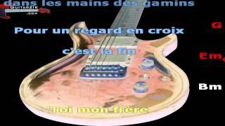 Un jour au mauvais endroit (V1 - Version pour chanteur / guitariste ) - Calogero