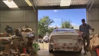 Painting 2002 Subaru Liberty boot width=