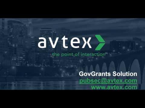 GovGrants Solution by Avtex