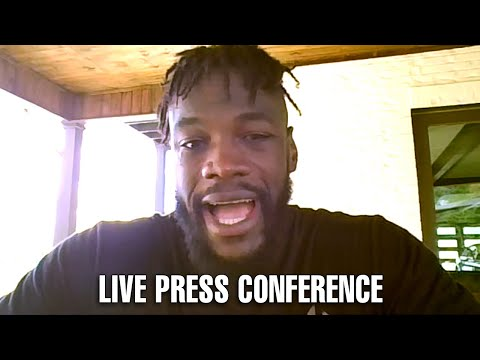 LIVE | DEONTAY WILDER PRESS CONFERENCE FOR FURY WILDER 3