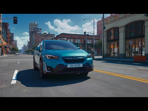 "2021MY SUBARU XV [e-BOXER] Promotional Video ""Urban Playground"" with Energy flow"