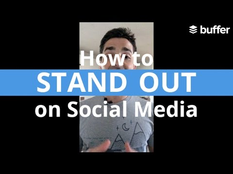 How to Stand Out on Social Media - Tips for Small Brands & Businesses