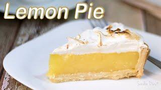 Lemon Pie: Torta de Limão Sicilano com Merengue | Receita Sandra Dias