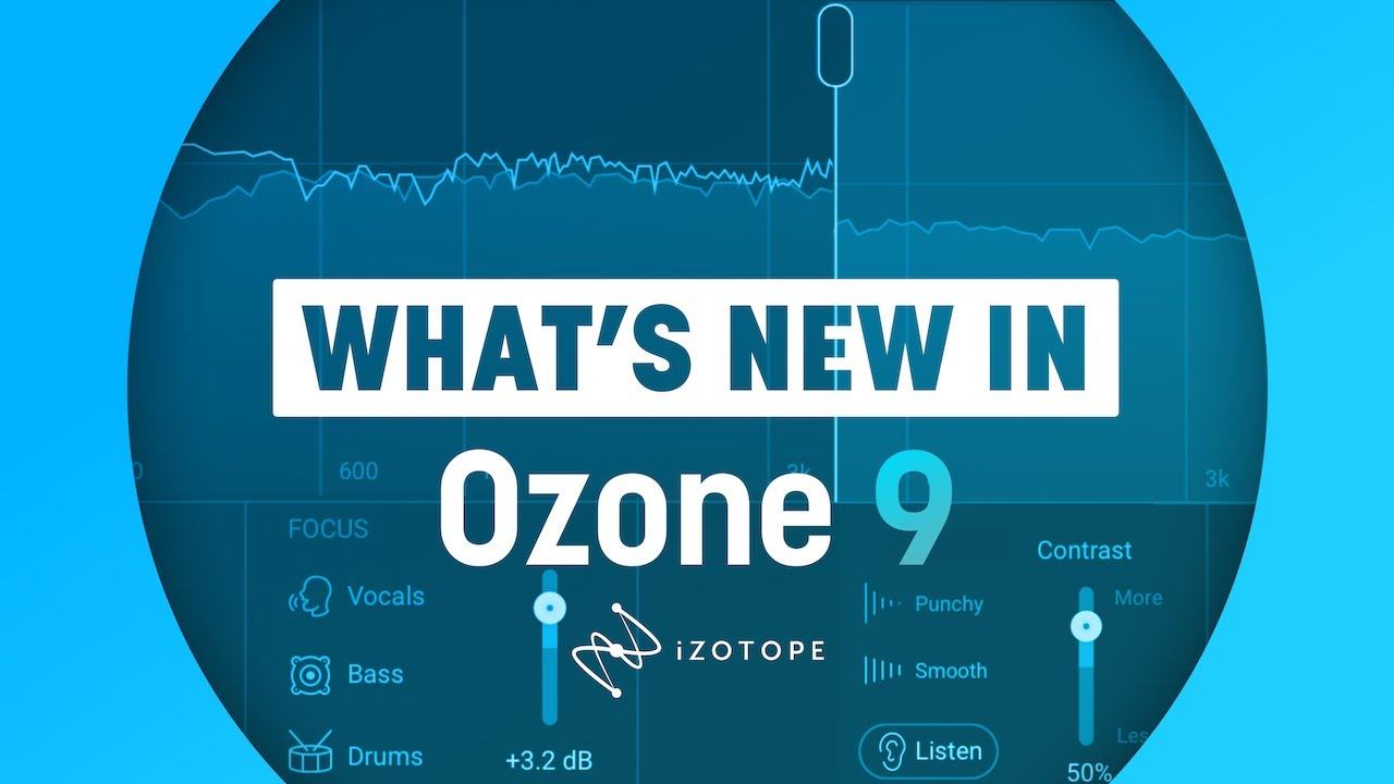 Buy Ozone 9 Standard Sound Editing Production Software