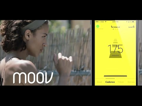Moov Run & Walk Wearable Coaching + Tracking