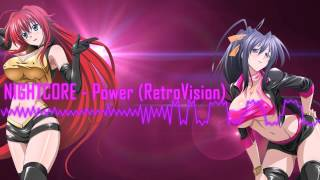 NIGHTCORE - Power (RetroVision Remix)