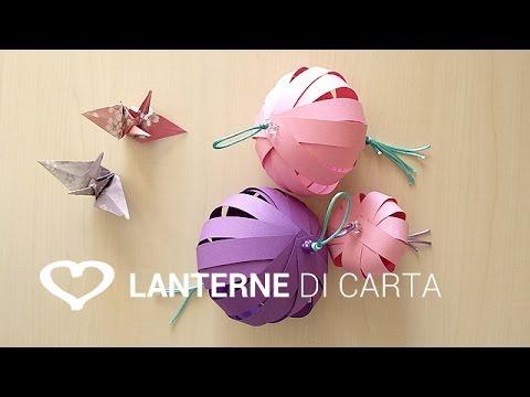 Lampadario Di Carta Velina : Come costruire una lampada di carta fai da te mania