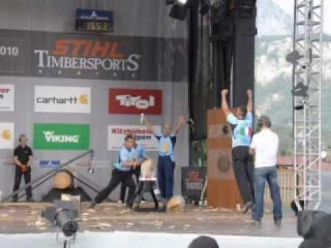 STIHL TIMBERSPORTS World Championships 2010 italia