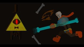 Disbelief Papyrus Vs Bill Cipher (Pivot Animation)