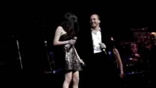 Cristian castro y Tamara cantan a duo ..... Si Nos Dejan