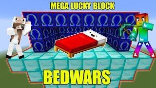 MINI GAME : OMEGA LUCKY BLOCK BEDWARS ** CUỘC ĐẤU GIỮA T GAMING VÀ CỪU GAMER AI SẼ THẮNG ?