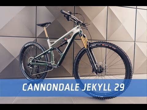 Cannondale Jekyll 29 2019 - First Look